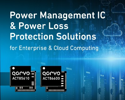 Qorvo - High Voltage Power Loss Protection with PMIC